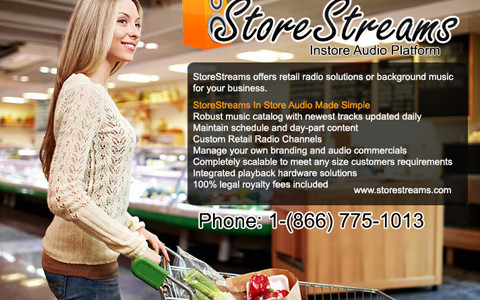 StoreStreams Business Music
