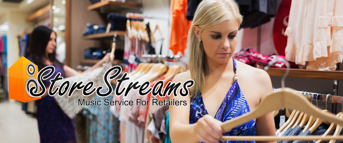 music service for retailers